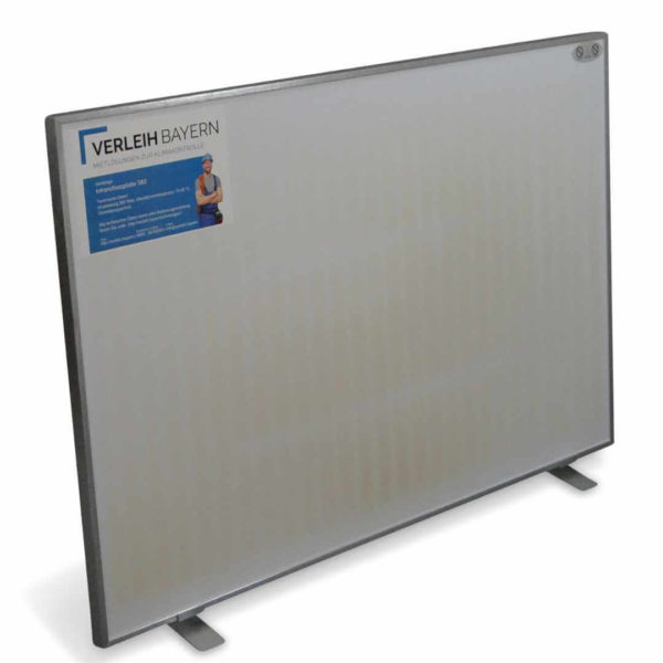 klima center infrarot heiz panel mieten 01 600x600 - Infrarot Heizplatte 580 mieten