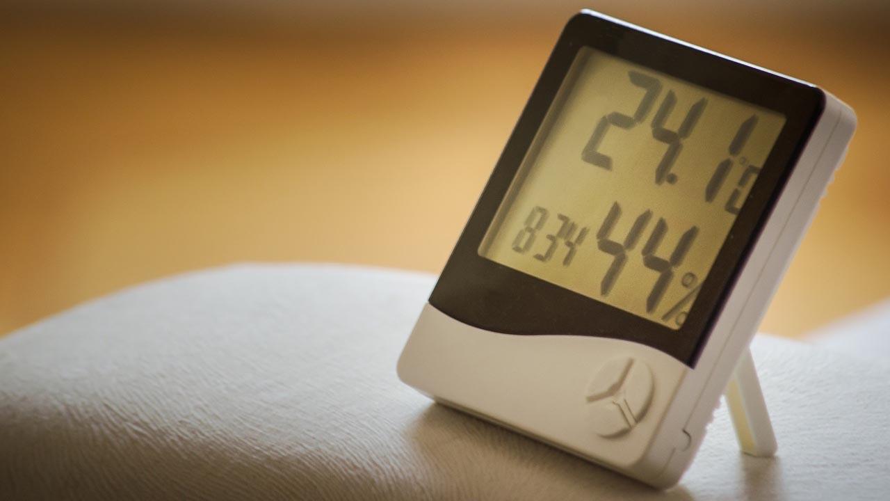 Befeuchtung Hygrometer Luftbefeuchter 1 - Befeuchtung von Luft, Inventar und Gütern