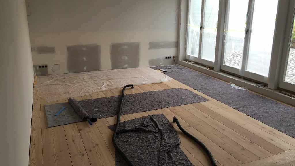 Estrich Dämmschicht Trocknung Wasserschaden München - Wasserschaden Hilfe und Wasserschaden Sofortmaßnahme
