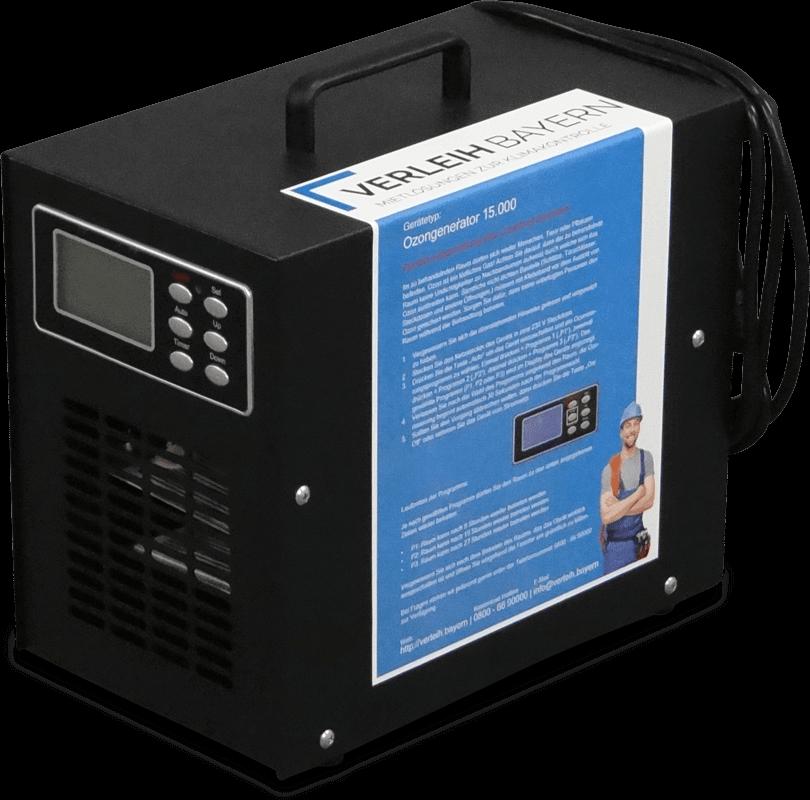 Ozongenerator 15000mg 01 min - Bautrockner & Geräte Verleih – Preise
