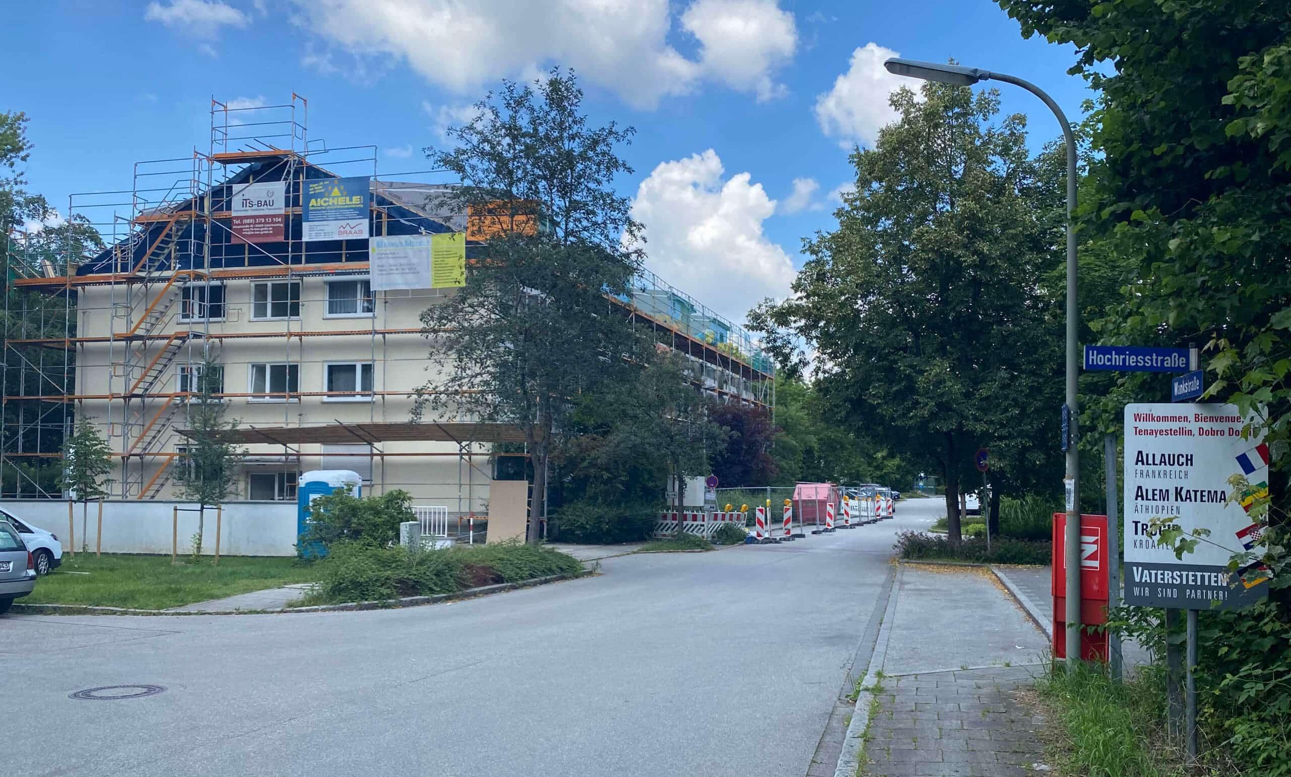Wasserschaden Bautrocknung München