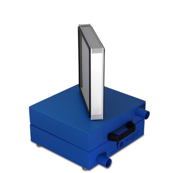 HEPA Filter Schalldaempfer Daemmschicht 001 600x600 - HEPA - Filter Box / Schalldämpfer für Seitenkanalverdichter 1,1 Kw