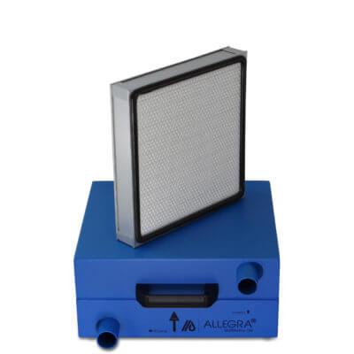 HEPA Filter Schalldaempfer Daemmschicht 002 400x400 - HEPA - Filter Box / Schalldämpfer für Seitenkanalverdichter 1,1 Kw